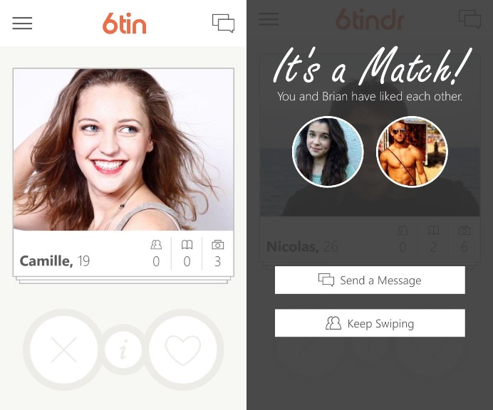 Rudy Huyns 6tindr (the supposed to be official Tinder app