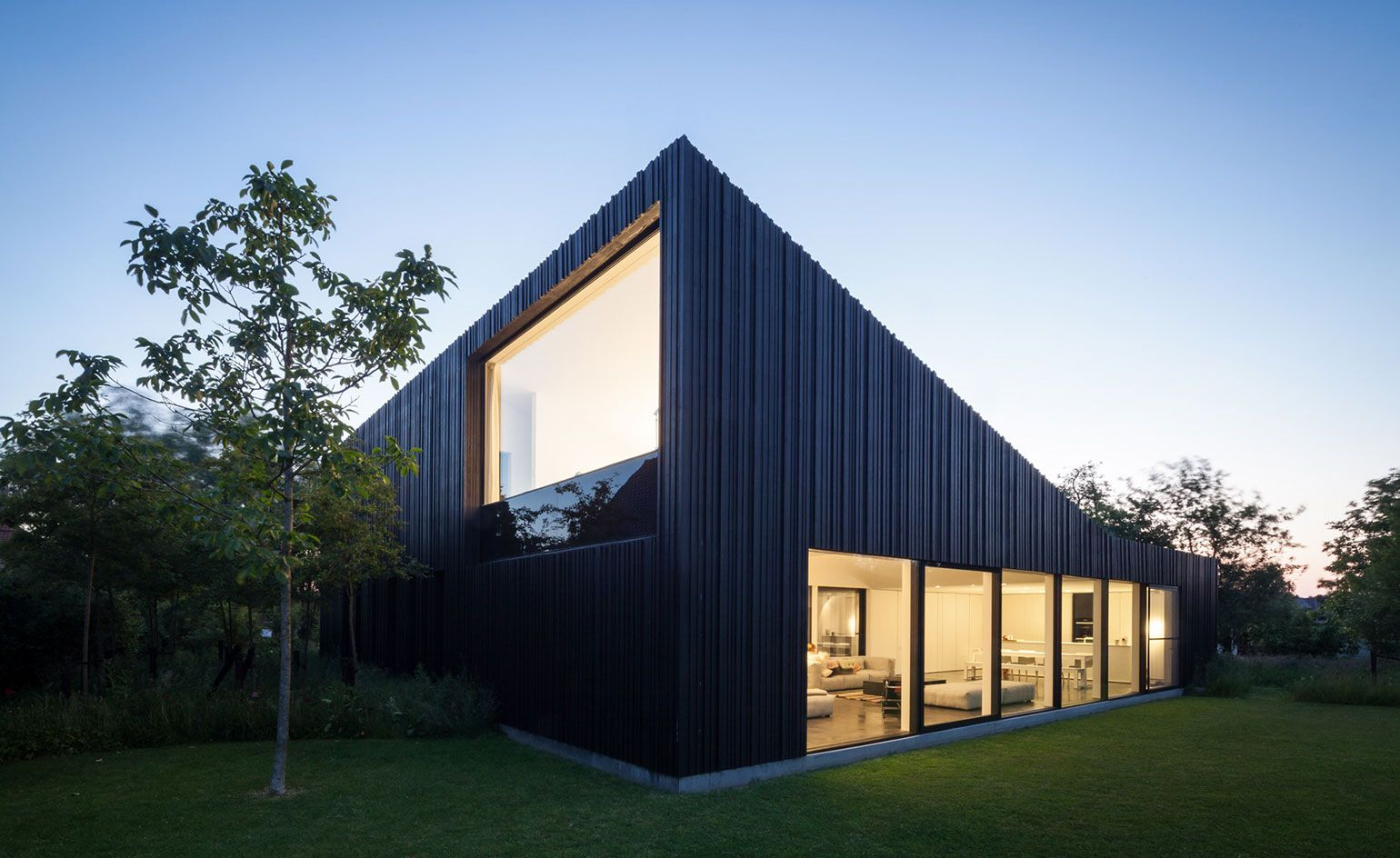 Behind closed doors: an introverted Belgian house is the perfect ...