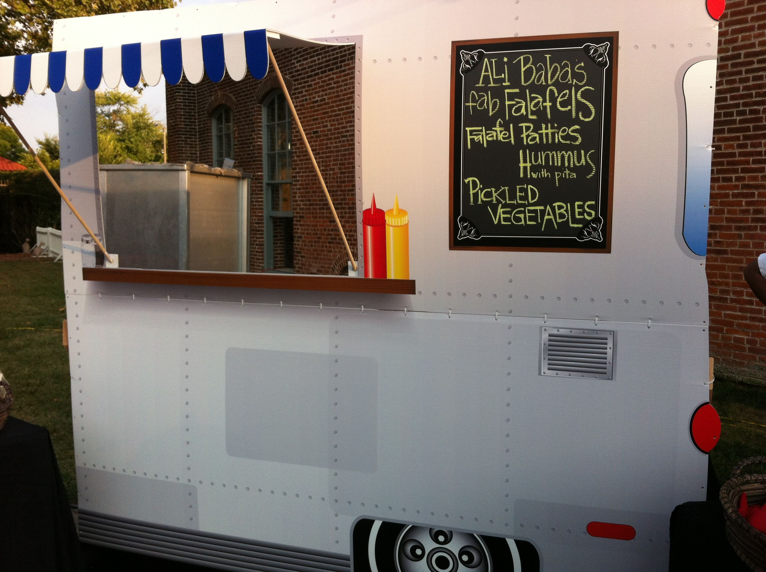 Great Food Truck Facade We Had Built For A Corporate Event