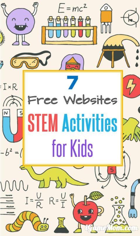 7 Free STEM Websites Stem science, Stem activities
