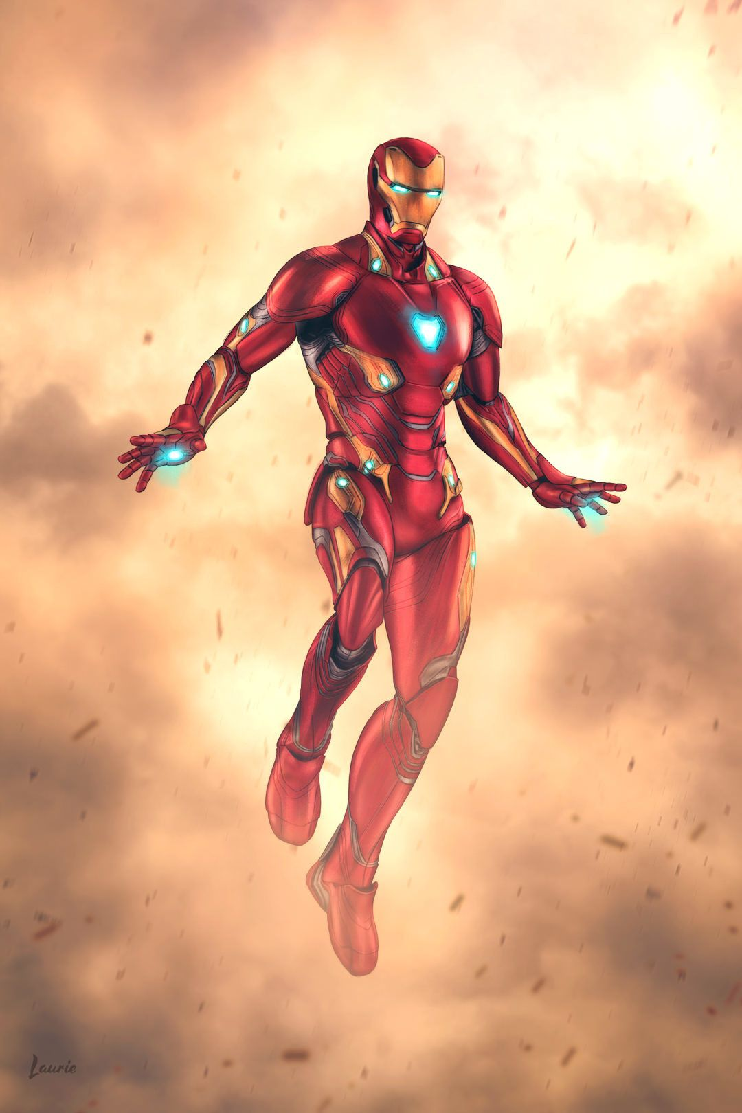 Bleeding Edge Iron Man By Laura Escobar Iron Man Art Iron Man