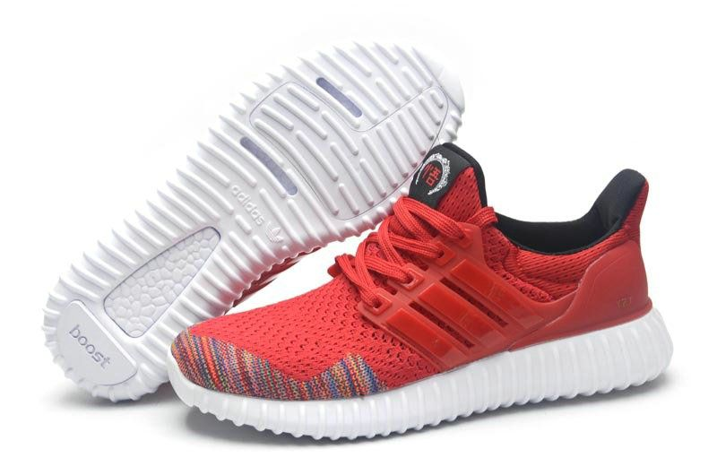 promo code 0ac1d e5a3e Adidas Yeezy Ultra Boost 2016-2017 Beckham Chinese New Year CNY Red Multi  Color UK Trainers 2017 Running Shoes 2017