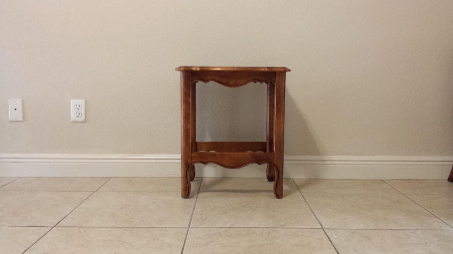 French Country small end table /side table, accent table by DEGFURNITUREDESIGNS on Etsy
