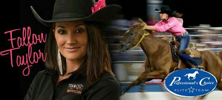 Fallon Taylor and her horse BabyFlo   Fallon Taylor   Fallon