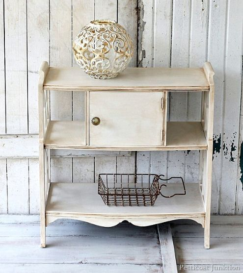 Smoky Pearl Furniture Painting Technique Captiva: How To Antique White Paint/ Furniture Makeover