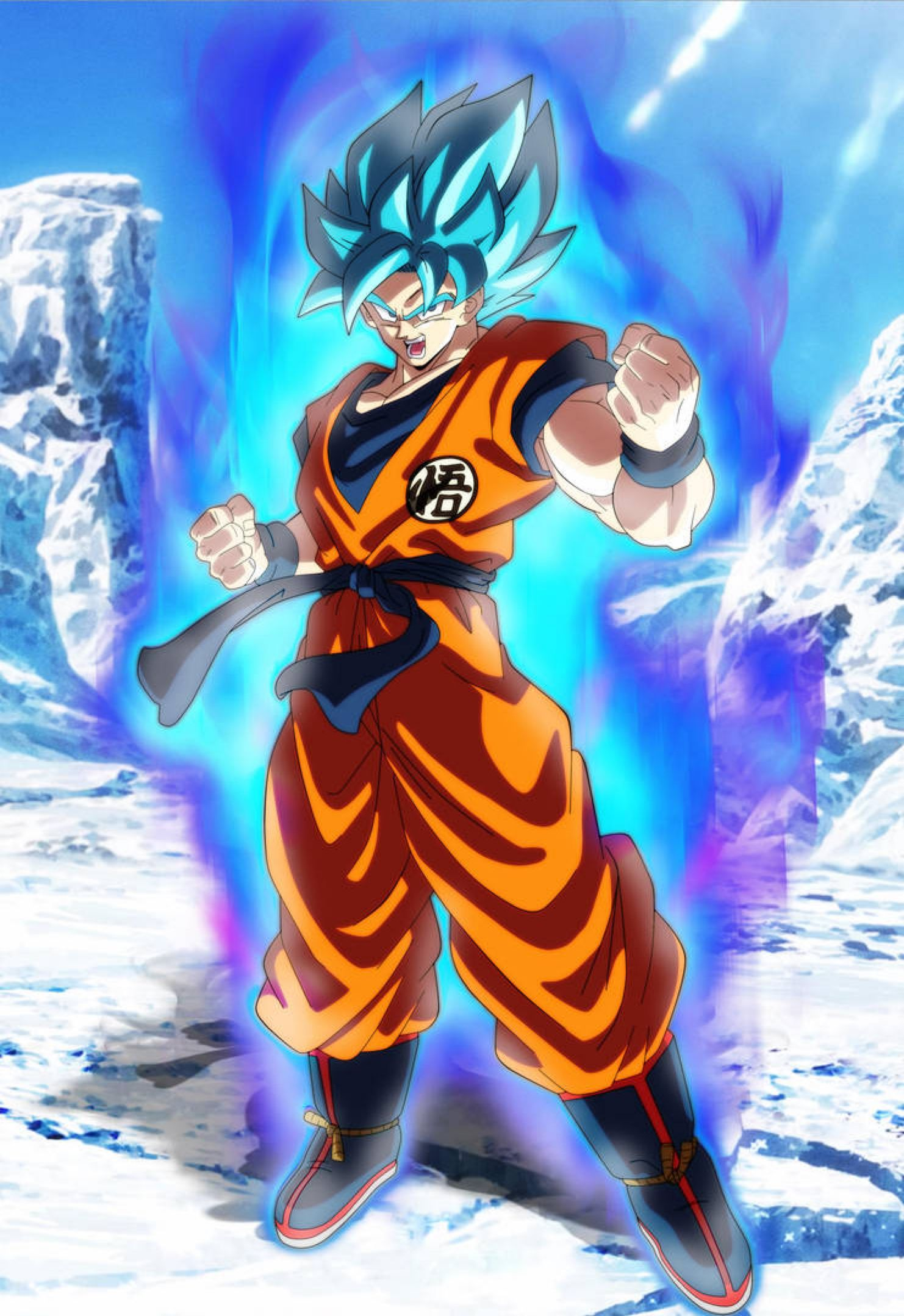 Goku Ssj Blue Dragon Ball Super Broly By Andrewdragonball On Deviantart Anime Dragon Ball Super Dragon Ball Super Manga Goku Super