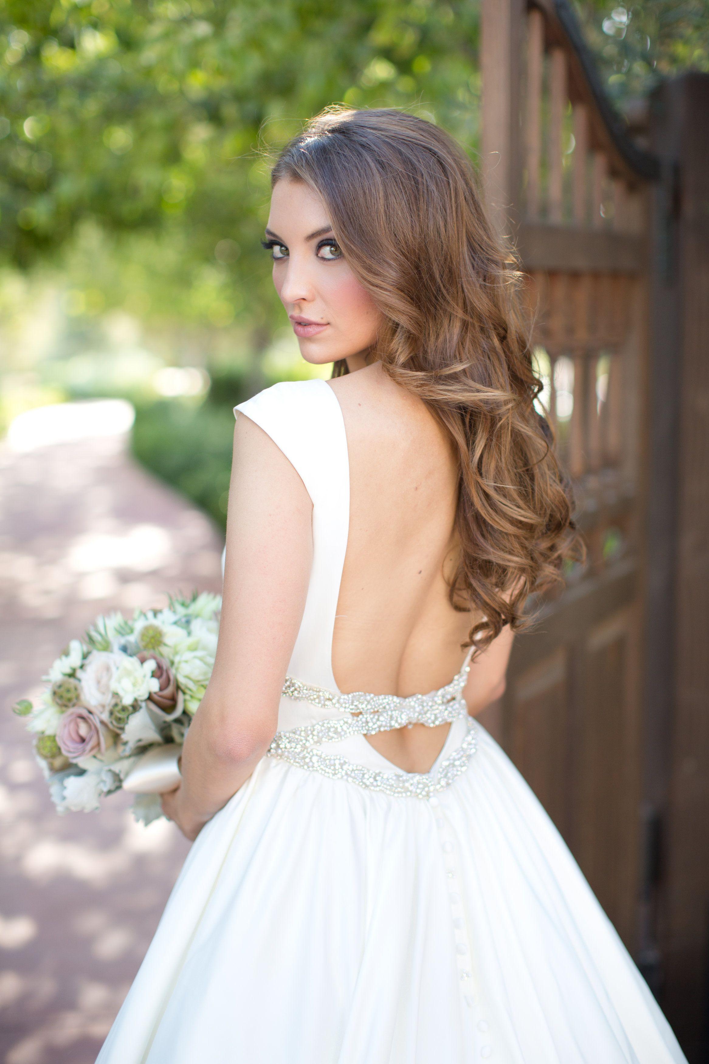 El Chorro Wedding Photos Wedding Curls Long Hair Wedding Styles