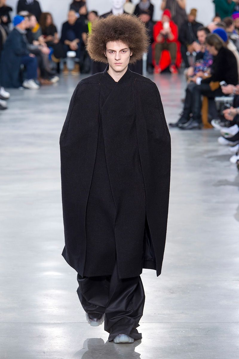 6dae95fa041 Rick Owens showed his Fall Winter 2018 collection during Paris Fashion Week.