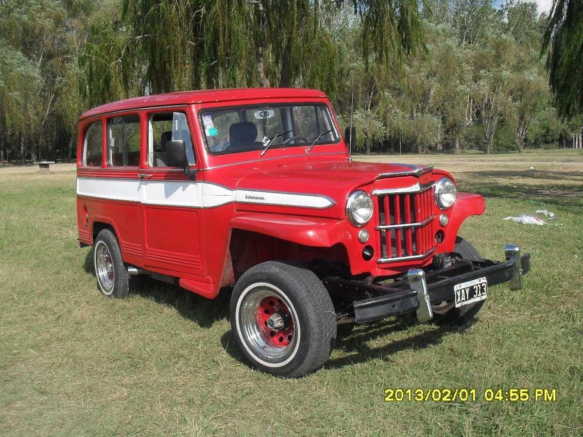 Vendo Estanciera 4x4 Tomo Jeep En Parte Pago Jeep Jeep Willys