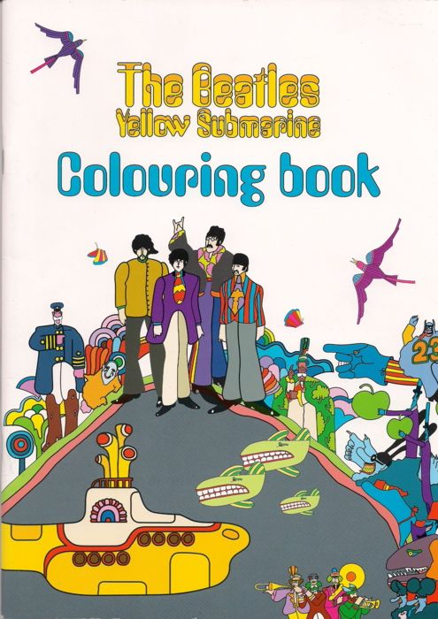 The Whole Coloring Book At Tomorrowneverknows Tumblr Post 4057785433 Yellow Submarine Colouring Thanks So Much For Sharing