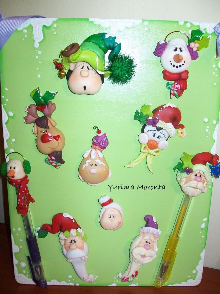 xmas christmas paper polymer clay christmas christmas crafts christmas ornaments pasta flexible cold porcelain clay crafts craft ideas