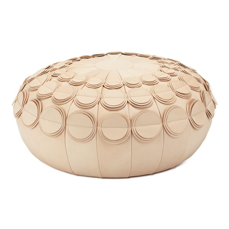 Pompom Pouf By Lisa Hilland Seating Benches Ottomans Stools Classy Dosa Pouf