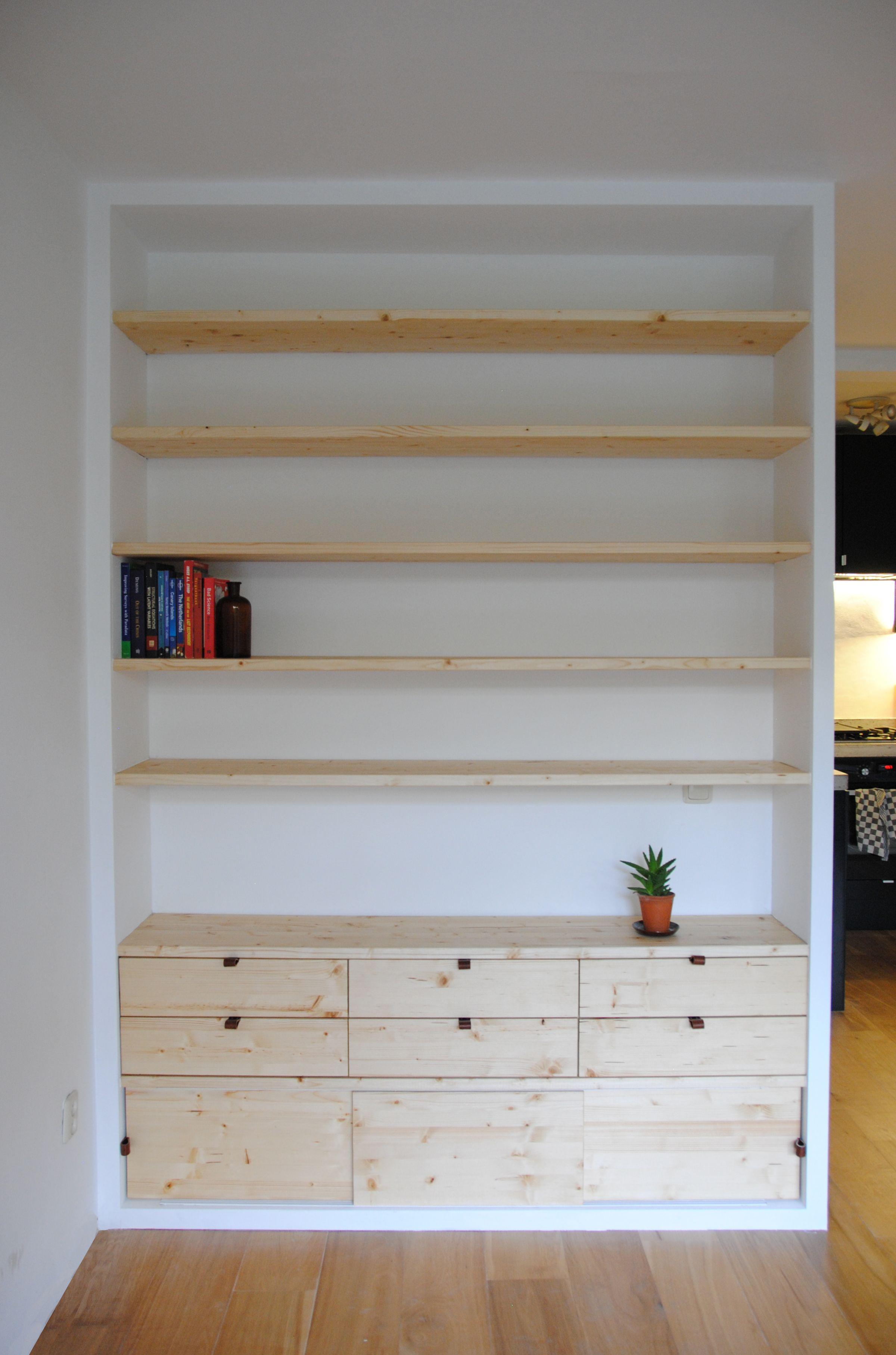 Boekenkast op maat in Amsterdam Oost ontworpen door StudioSVA ...