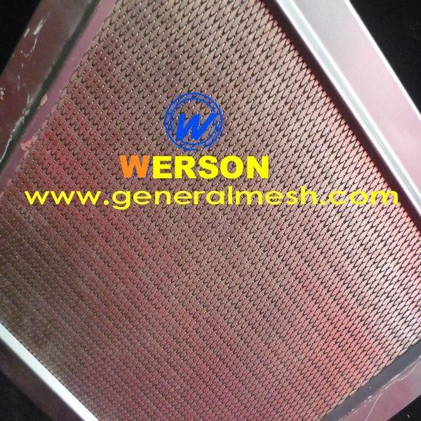 generalmesh malla de acero inoxidable como revestimiento de fachada