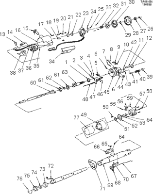 Steering Column Diagram 55 Chevy Truck - Wiring Forums