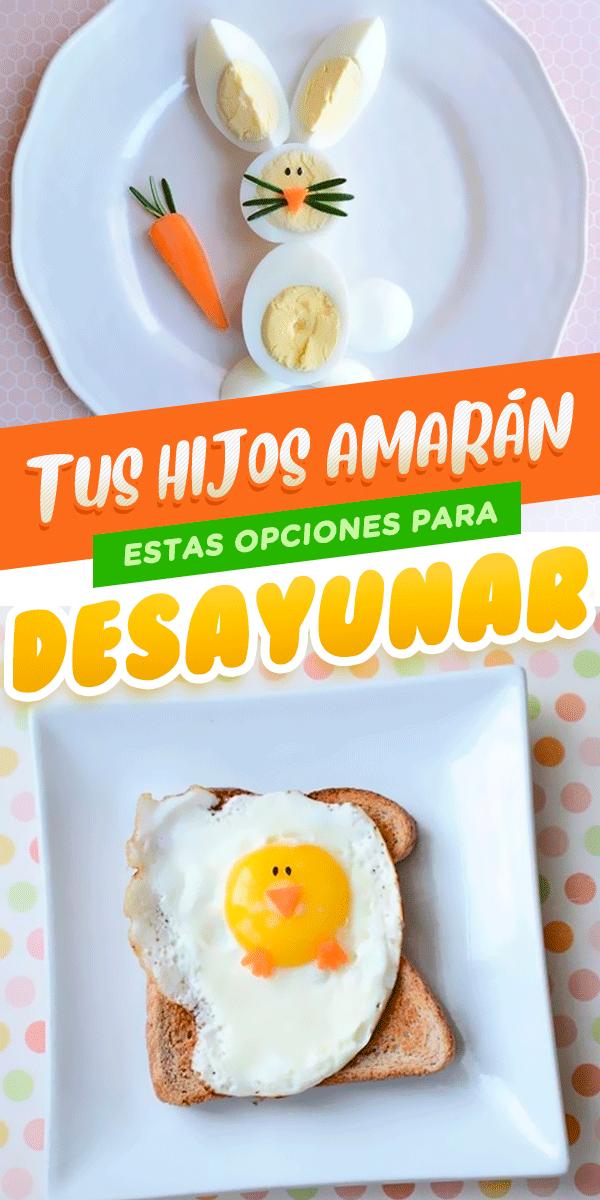 18 Opciones De Desayunos Ricos Y Saludables Para Niños Desayuno Para Bebes Comidas Saludables Para Niños Pequeños Comidas Saludables Para Niños