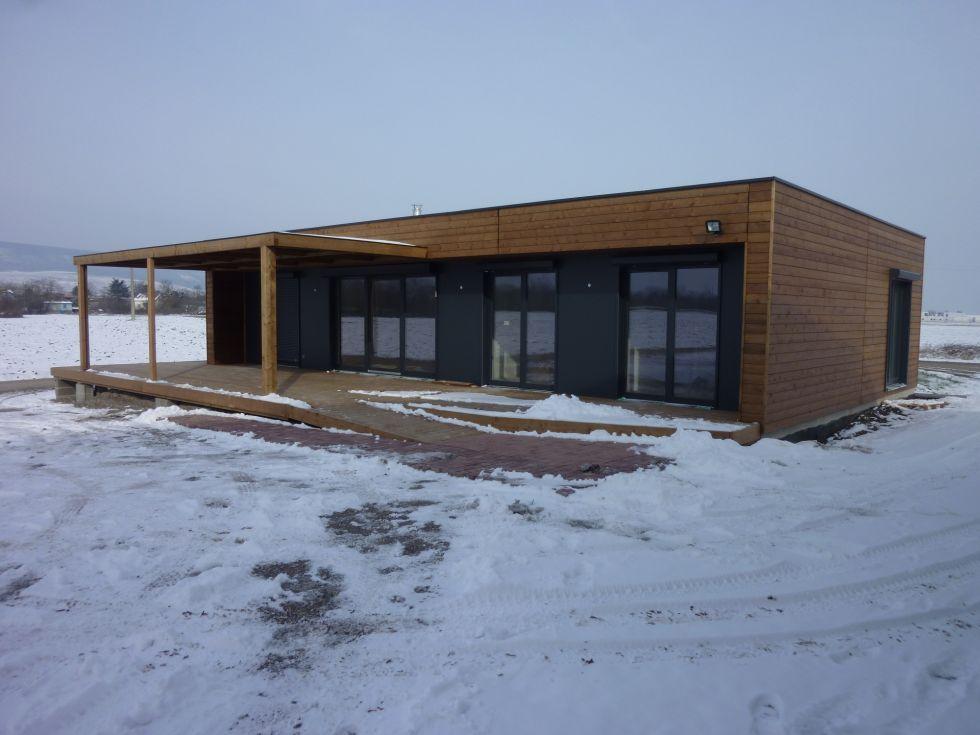 Maison ossature bois booa moov4 prefab house cottage house styles for Prefab maison