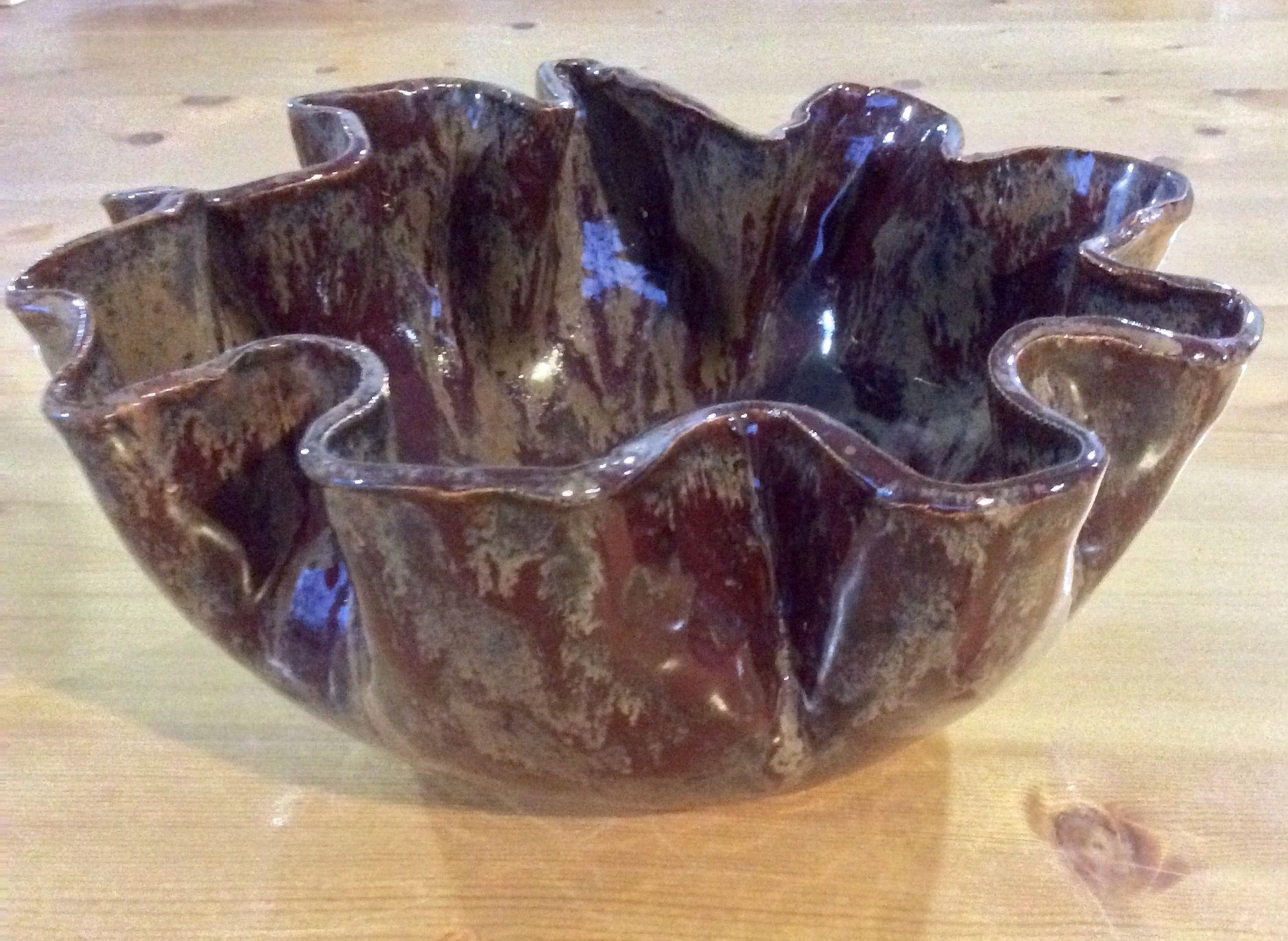 Small Corona Bowl in Ancient Brick.