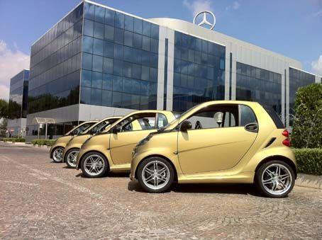 Smart Brabus Da Nera A Oro Luv A Smart Car Smart Brabus Smart