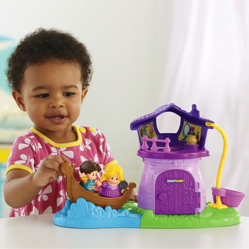 Toddler Toys People : Little people disney princess rapunzel s tower infant