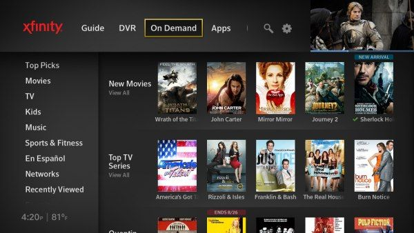 Comcast officially launches next-gen X1 DVR platform and