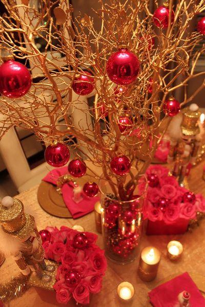 Decoraciones de navidad centro de mesa la cale ita cali for Decoraciones rusticas para navidad