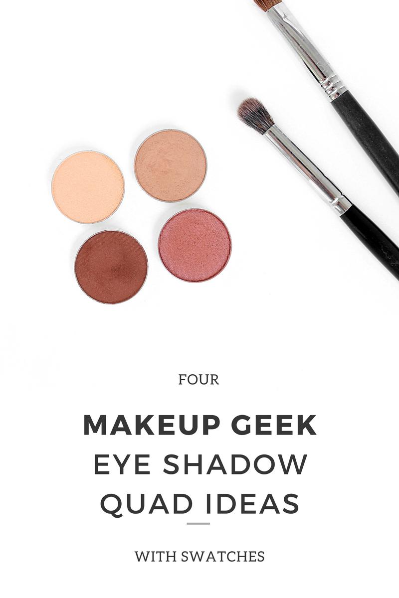 Makeup Geek Eye Shadow Quads Warm Tones Makeup geek
