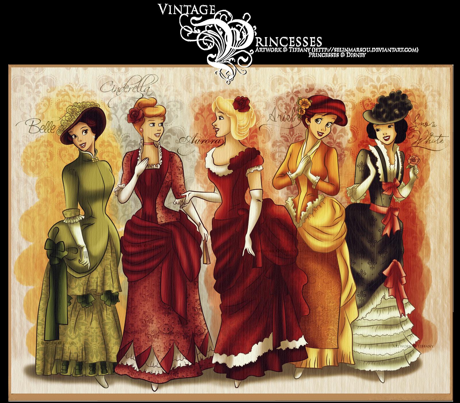 Vintage Princesses