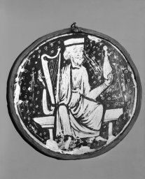 French. Paris, or English, Roundel with Elder of the Apocalypse