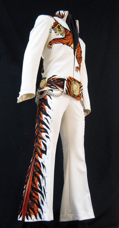Tiger Jumpsuit Elvis presley photos, Elvis presley