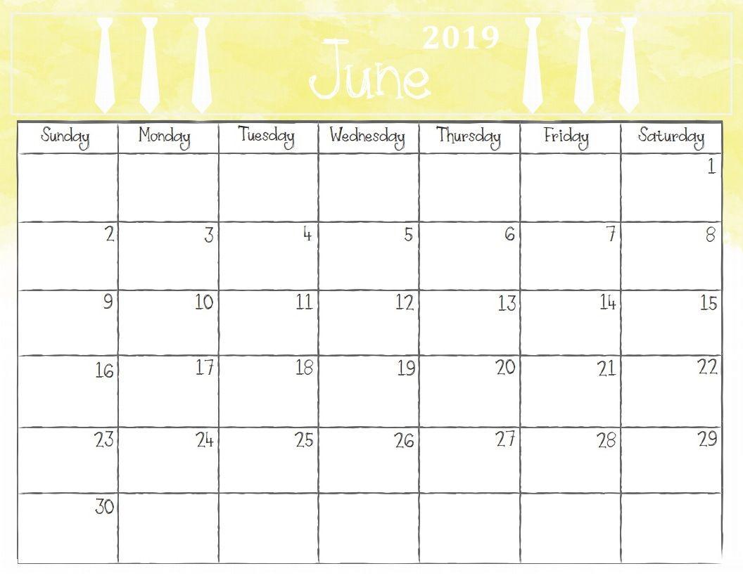 Image result for june 2019 calendar