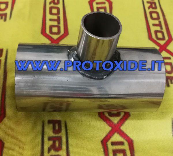 Manicotto in acciaio inox a T diametro 57mm al prezzo di 32 ...