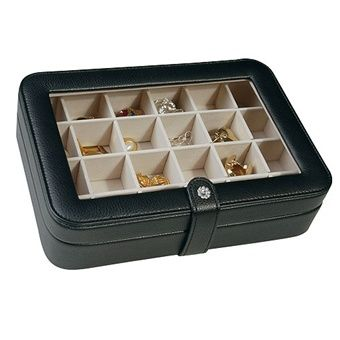 Mele Earring Organizer Box and Travel Jewelry Cases EARRING