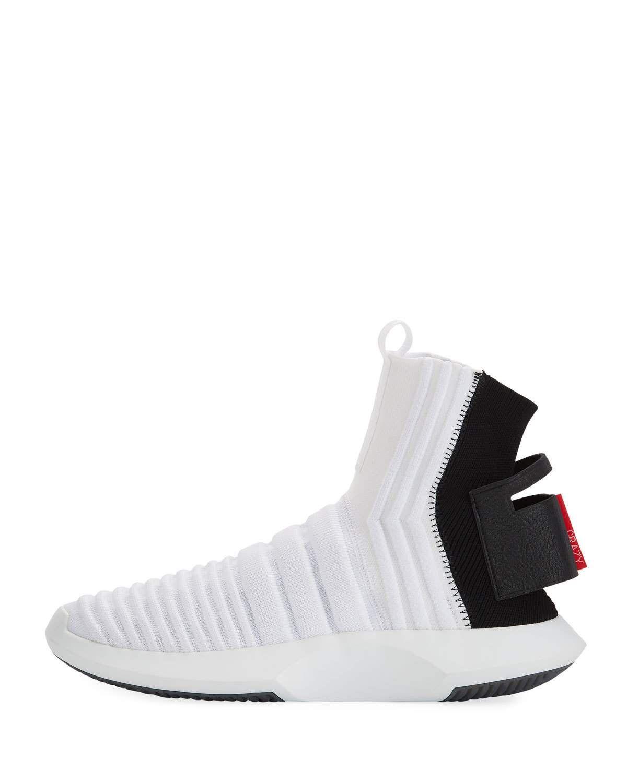 Adidas Men's Crazy 1 ADV High Top Sock Sneakers in 2020