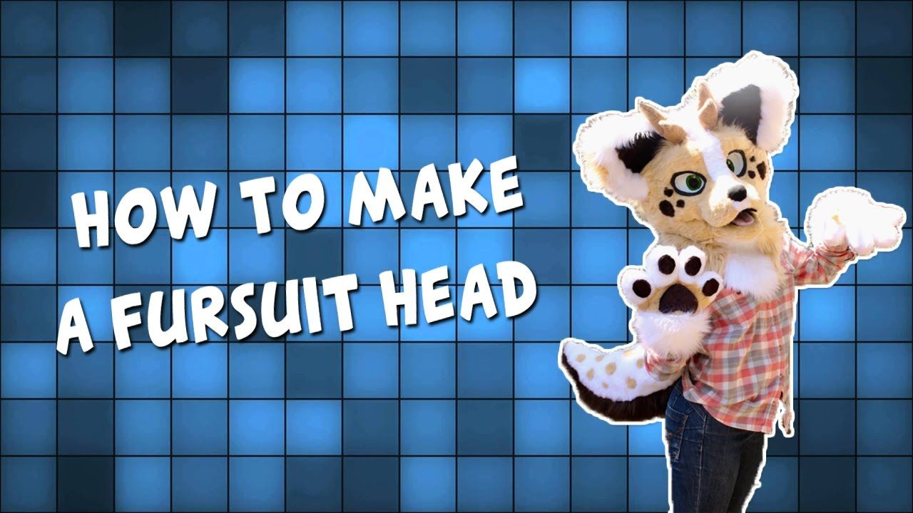 Fursuit Head Tutorial! (OUTDATED SEE DESCRIPTION) in 2019