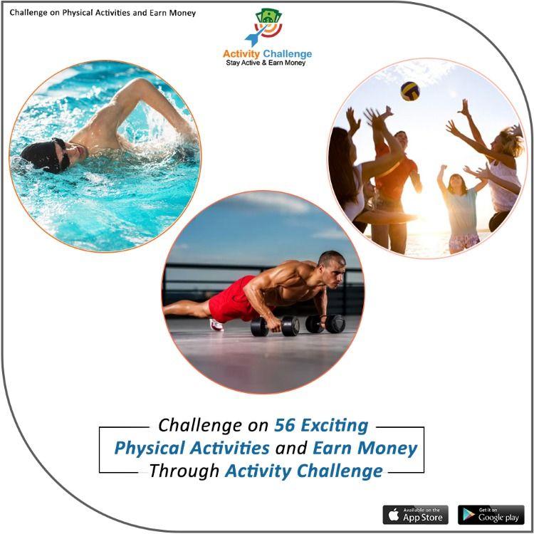 Download Activity Challenge App To Challenge Yourself Or