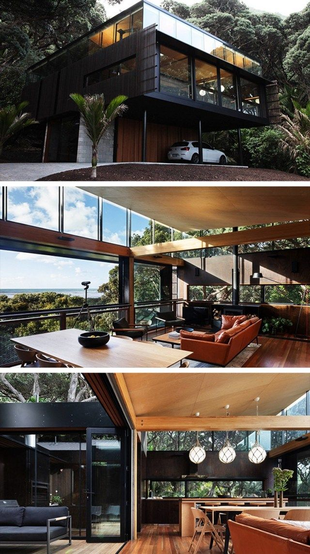20 Amazing Kawakawa House By Herbst Architects In Piha New Zealand Page 2 Of 20 In 2020 Beach House Design Architecture House Architect