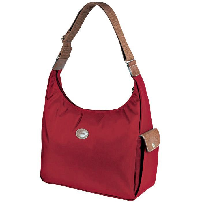 Longchamp Le Pliage Hobo Sac Rouge | Longchamp Hobo Sac | Pinterest |  Longchamp, Hobo bags and Bag