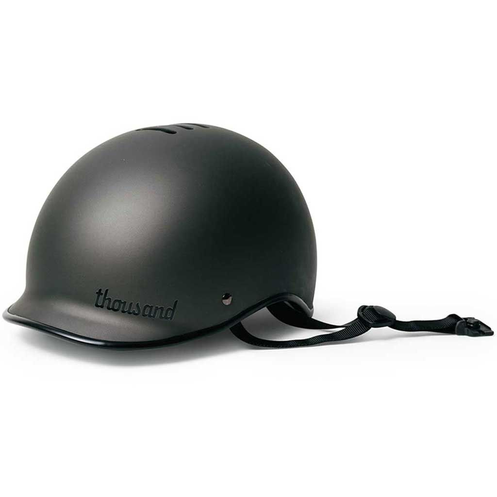 Buy Thousand Stealth Black Poplock Bicycle Helmet Bicycle Helmet Bicycle Helmet