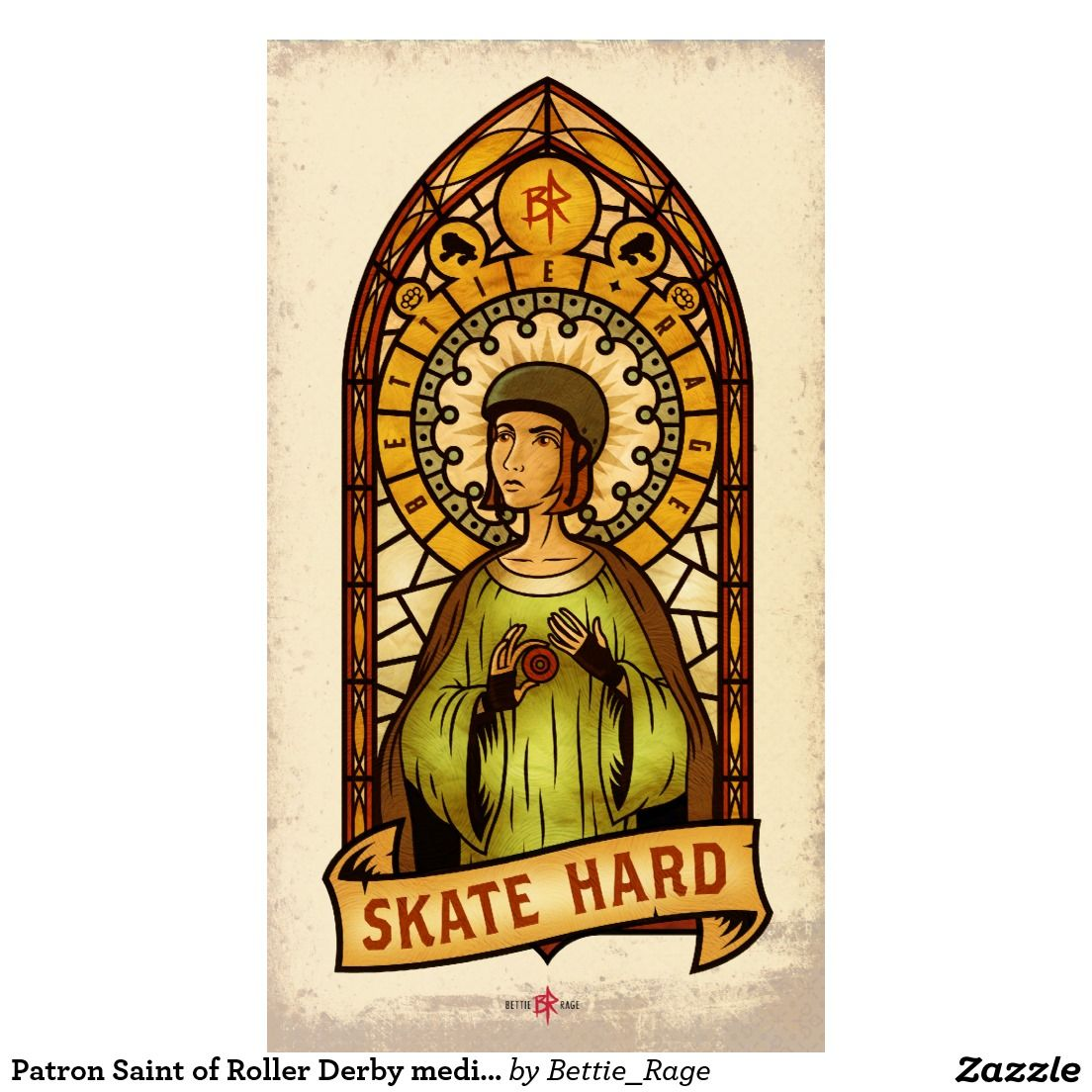 patron_saint_of_roller_derby_medium_poster_11_x20