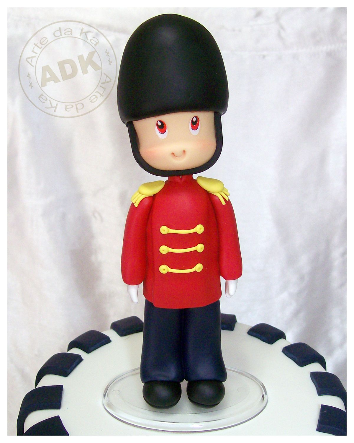 Toy soldier sugar figurine | London | Pinterest | Tortenfiguren und ...