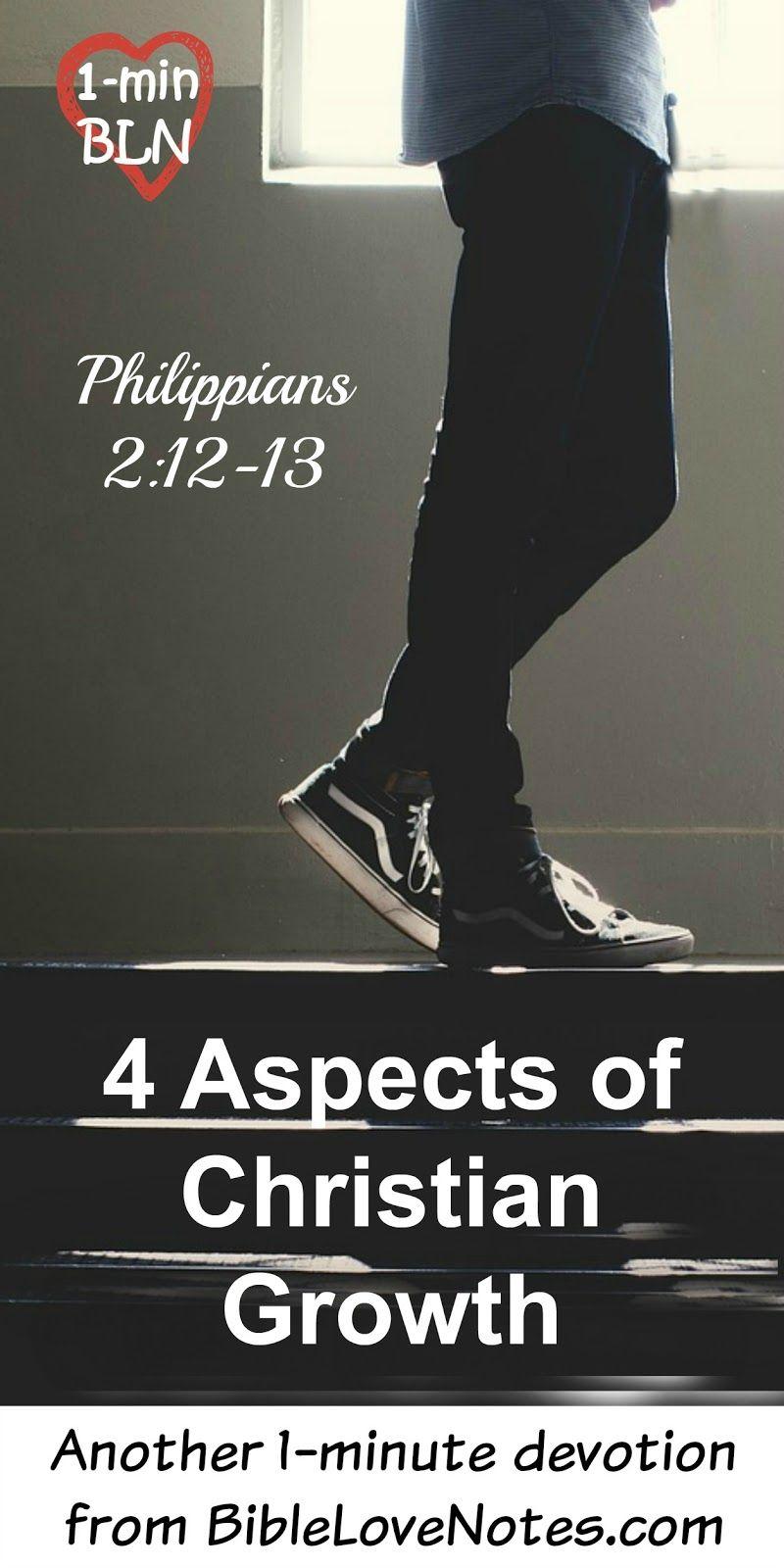 4 aspects of christian growth | faith | pinterest | christian, bible