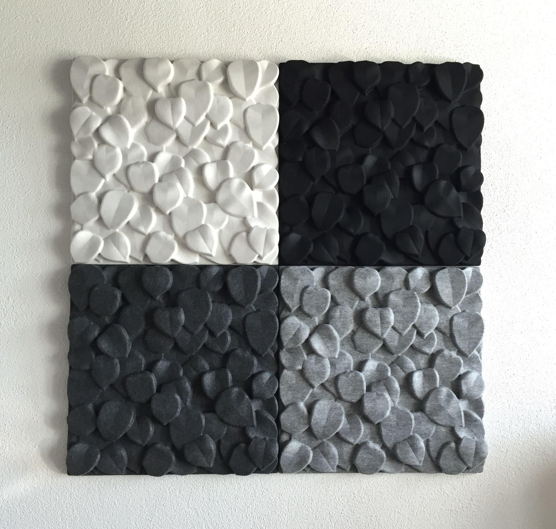 Trennwand Garage | Johanson Design - Schallabsorber «leaves ...