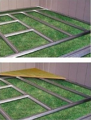 Shed Floor Frame Kit Garden Yard Tool Arrow Storage Building