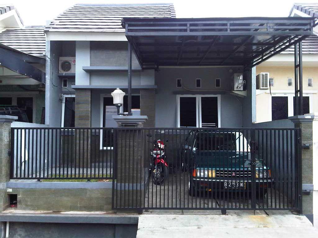 Garasi Mobil Minimalis | Rumah Minimalis, Rumah, Desain Rumah