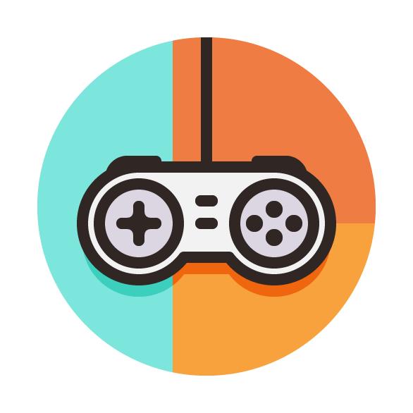 How To Create A Game Controller Vector Icon Vectips Game Logo Design Game Controller Vector Icon Design