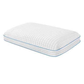 Purelux Simply Cool Gel Memory Foam Pillow Queen Foam Pillows