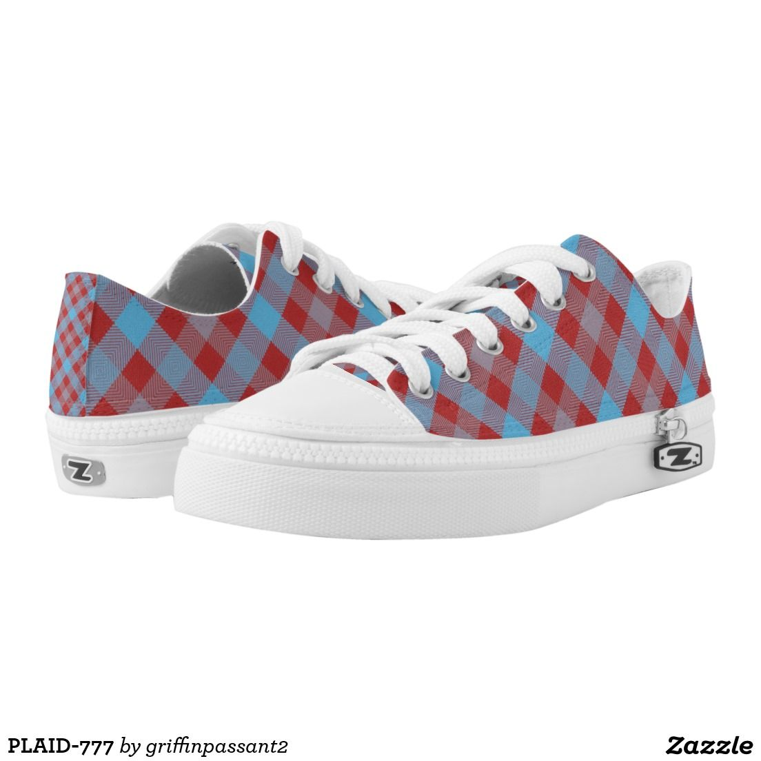 PLAID-777 PRINTED SHOES