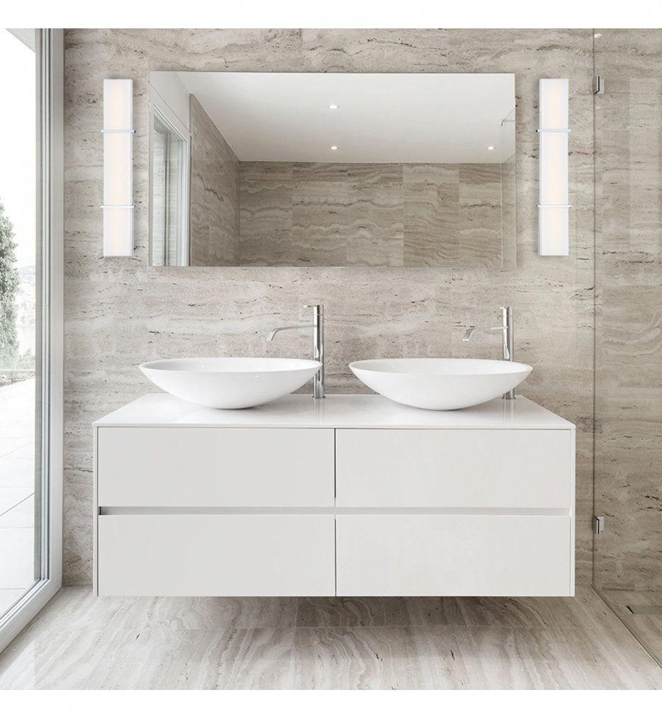 Photo of dweLED – WS-99830-CH – Ratio Chrome 30 Inch Bath Vanity Light