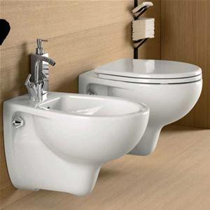 Sanitari sospesi Pozzi Ginori Colibri 2 ceramica wc con bidet e ...